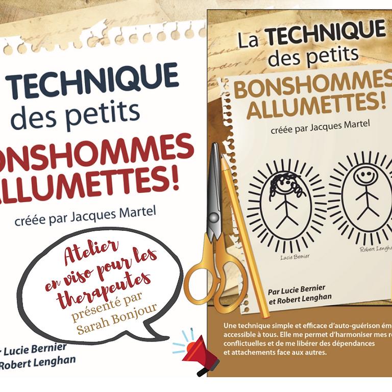 Atelier Bonshommes Allumettes pour thérapeute/praticien.ne