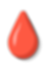 Gouttes de couleur rouge