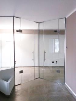 Porta_vetro_cerniere_maniglia_acciaio