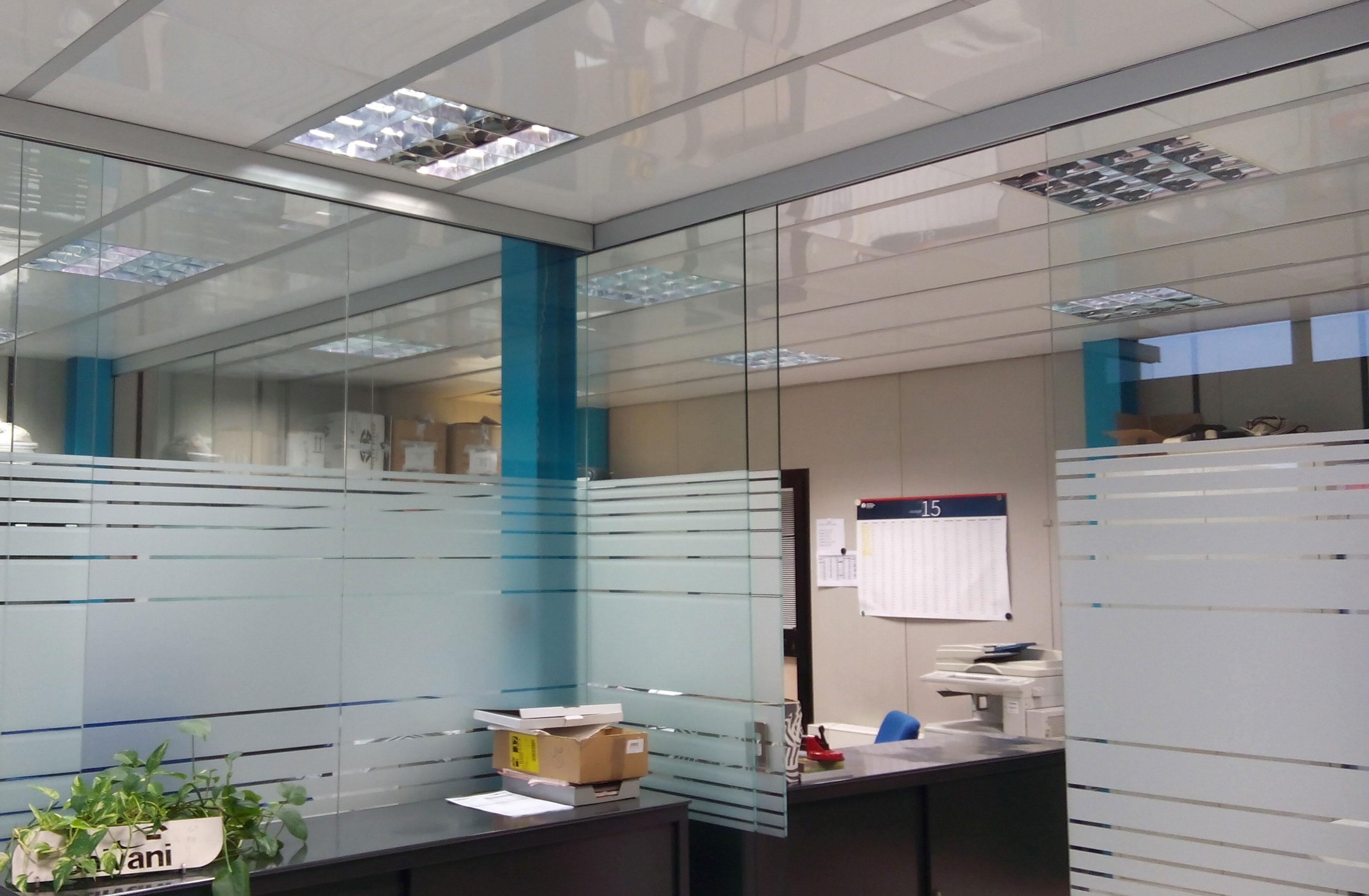 Divisorio_uffici_scorrevole_vetro