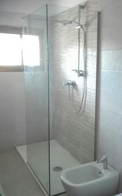 Box doccia in cristallo fisso