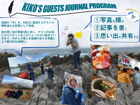 KIKO'S GUESTS JOURNAL PROGRAM