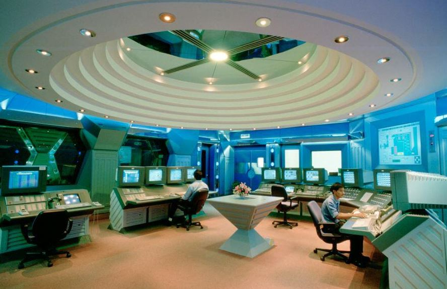 Brunei-LNG-control-room