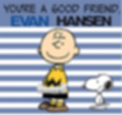 You're a Good Friend, Evan Hansen logo