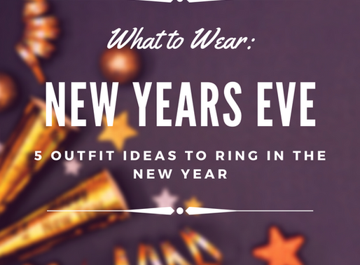 What to Wear: New Year's Eve
