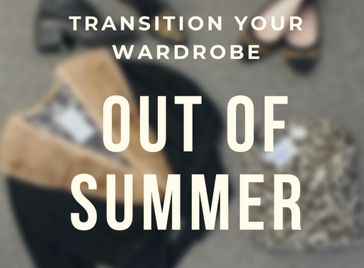 How to Transition Your Wardrobe Out of Summer