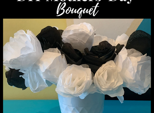 DIY Coffee Filter Flower Bouquet