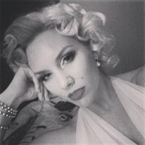 Julie Holiday as Marilyn Monroe