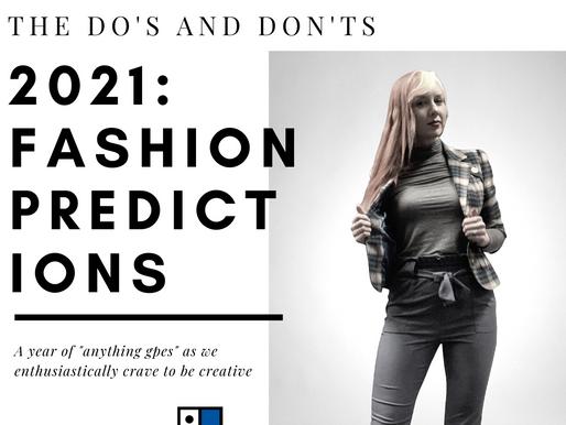2021 Fashion Predictions
