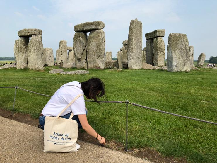 Sampling at Stonehenge