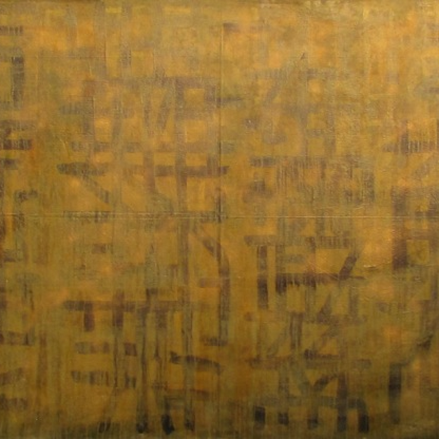Mixed Media on Canvas  Please contact gallery for price.