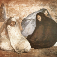 Grupo de Mujeres Sentadas III