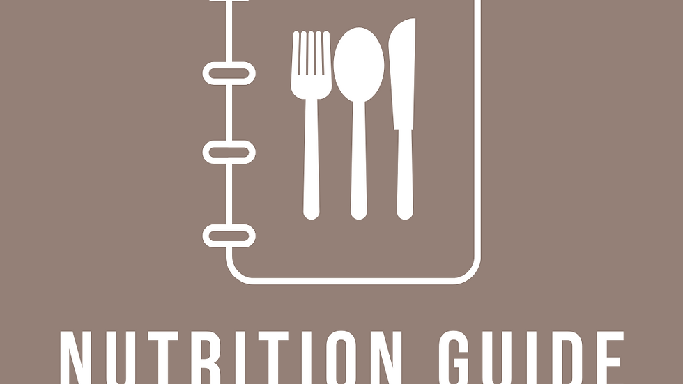 Daily Nutrition Guide
