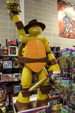 TMNT Mikey Vintage Toy Store