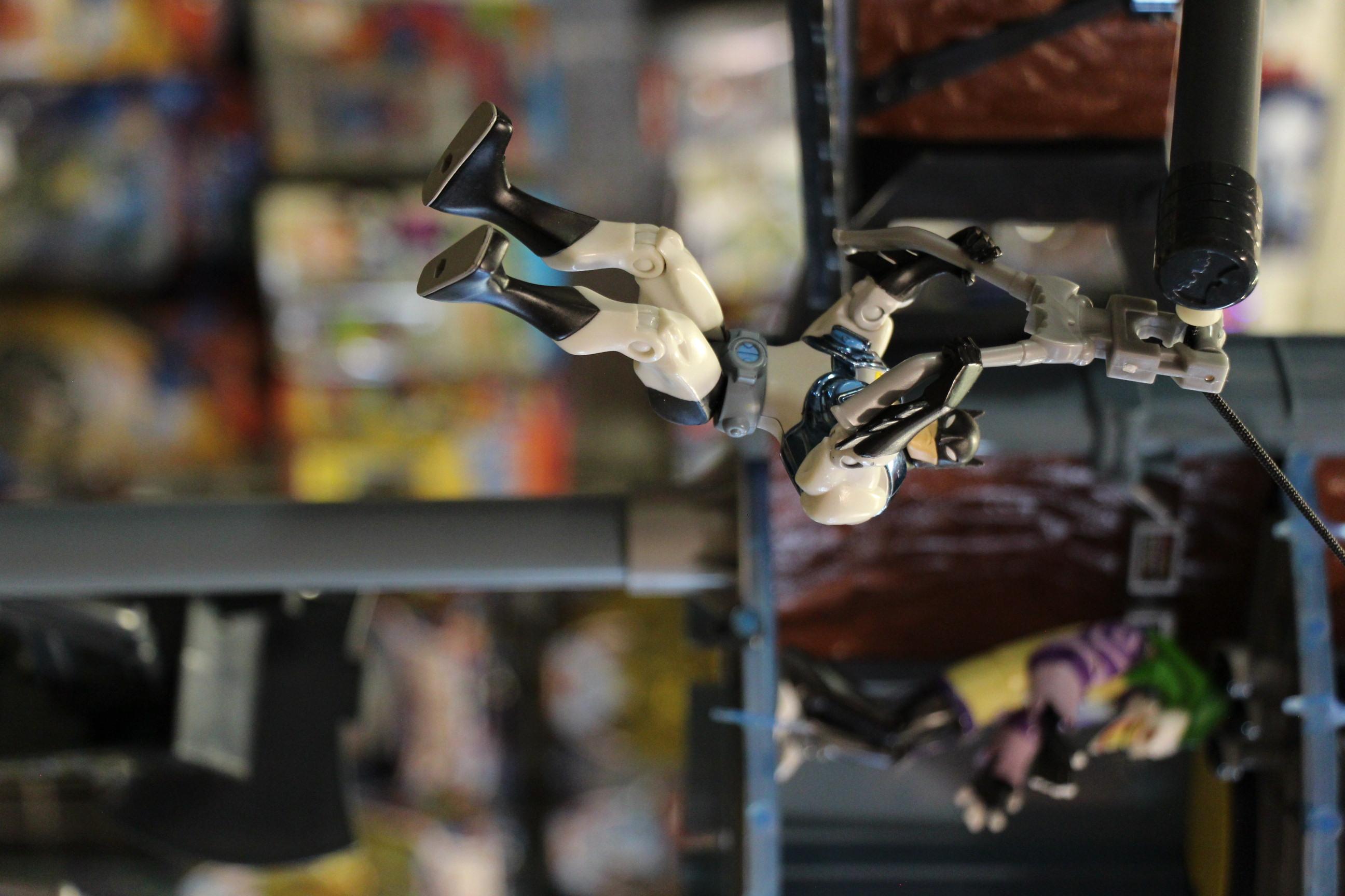 Batman gliding! Action Figure Store