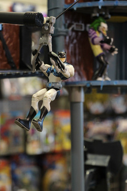 Batman gliding! Action Figure Store