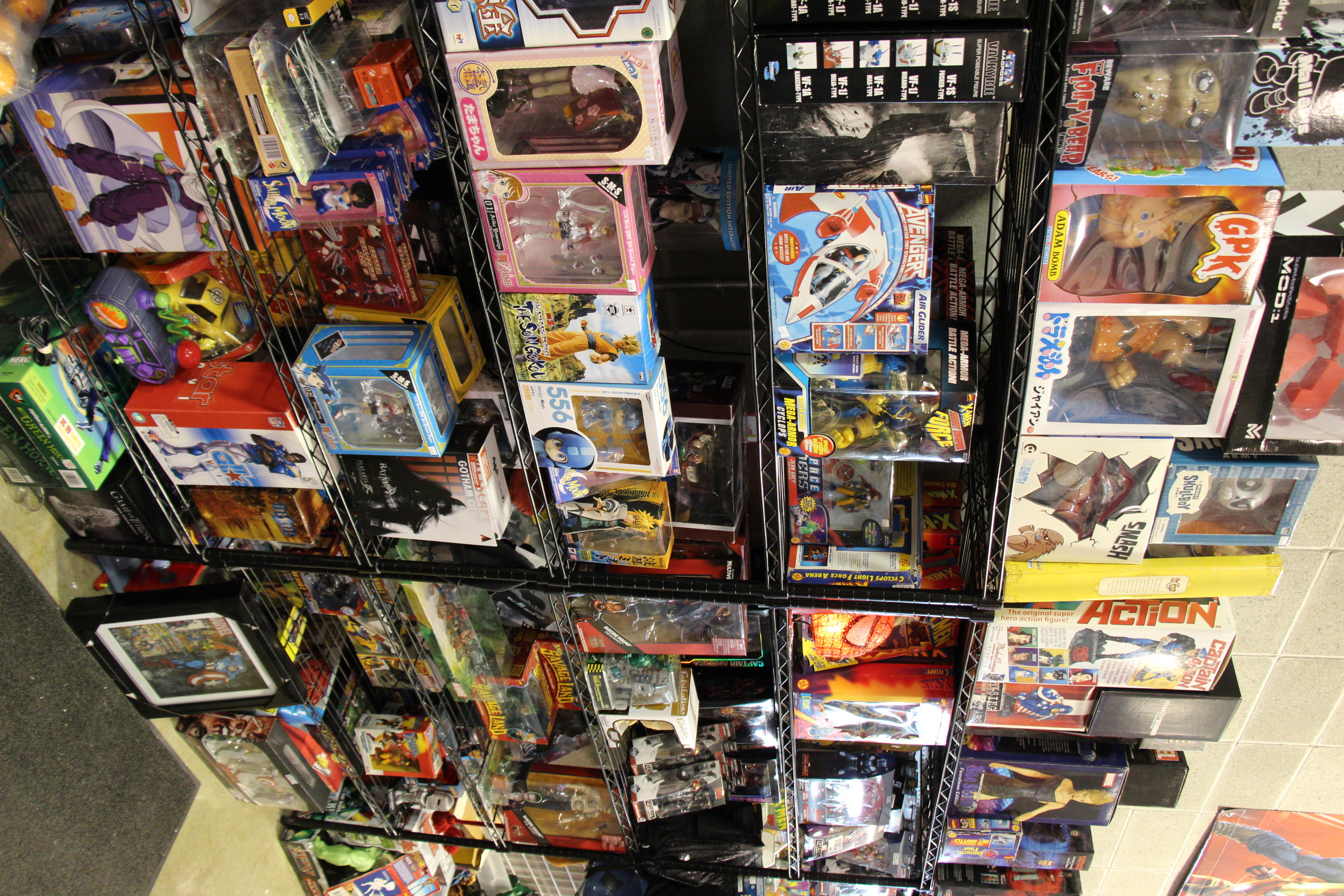 Anime & Marvel, Vintage Toy Store