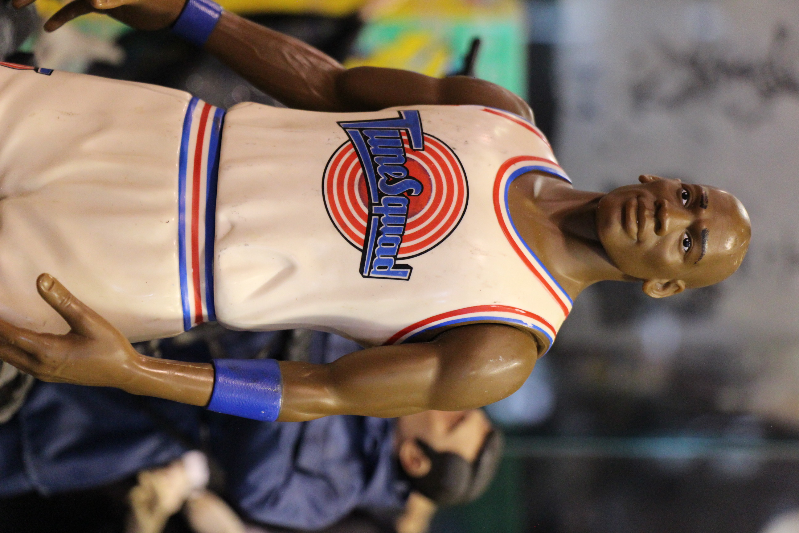 Michael Jordan saves Looney Tunes, Vintage Toy Store