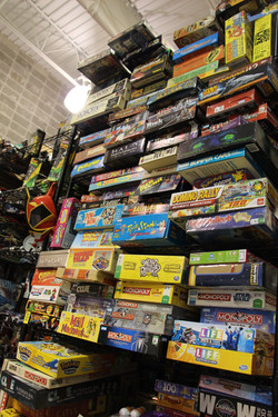 Board Games, Vintage Toy Store