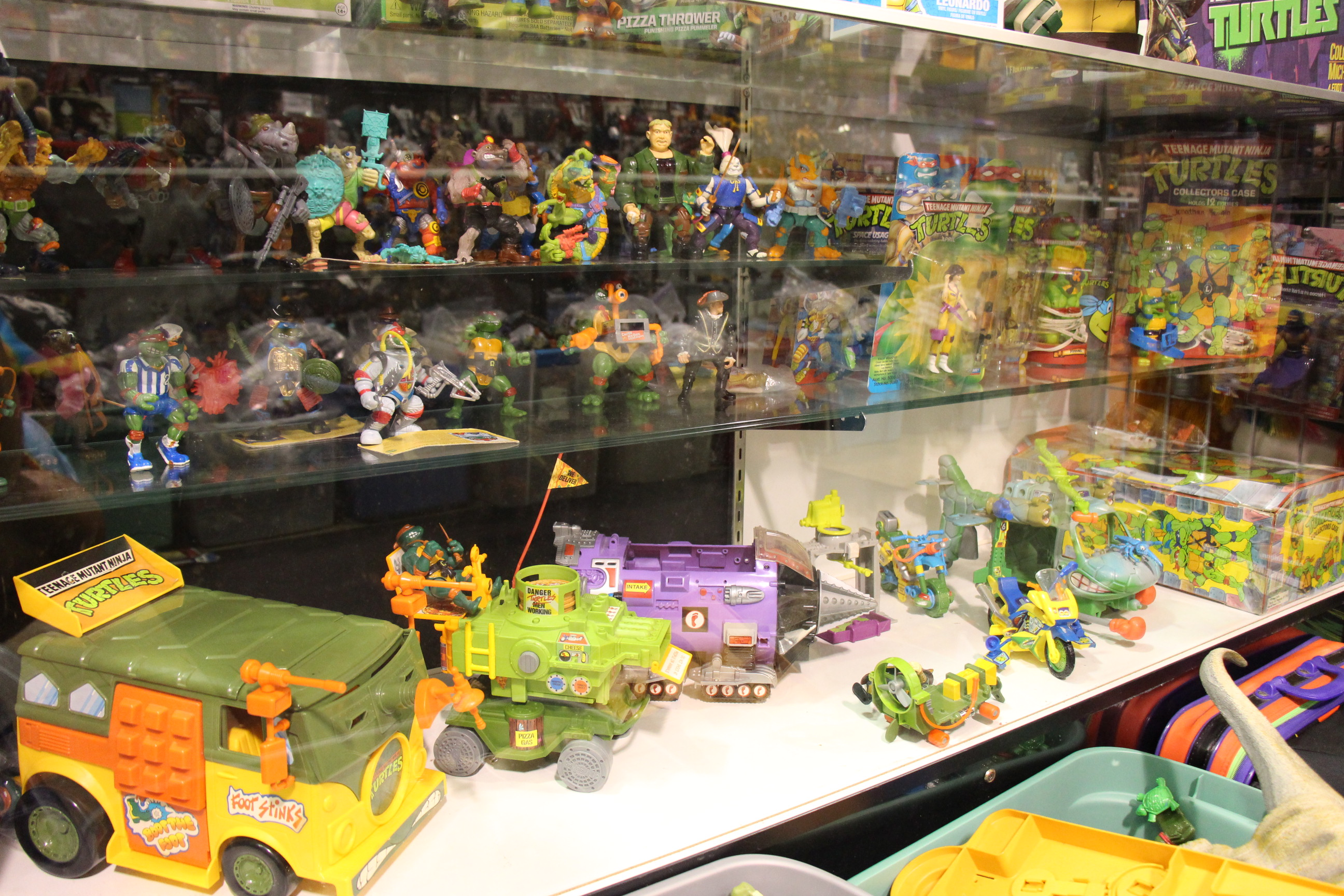 Vintage Toy Store,Teenage Mutant Ninja Turtles