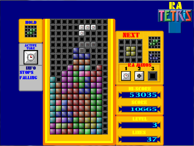 RA Tetris Time Mino Active