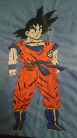Goku Sewing Patch