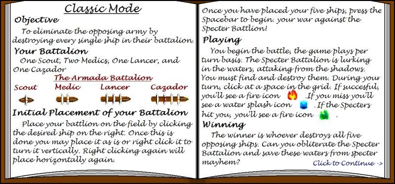 Armada Rules