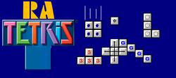 Ra Tetris Banner