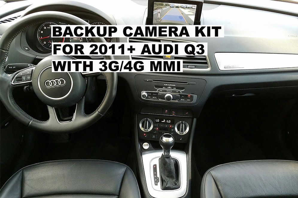 2011+ audi q3, a1 w/rmc 3g/4g mmi rear view camera backup camera interface  kit | carsgadget