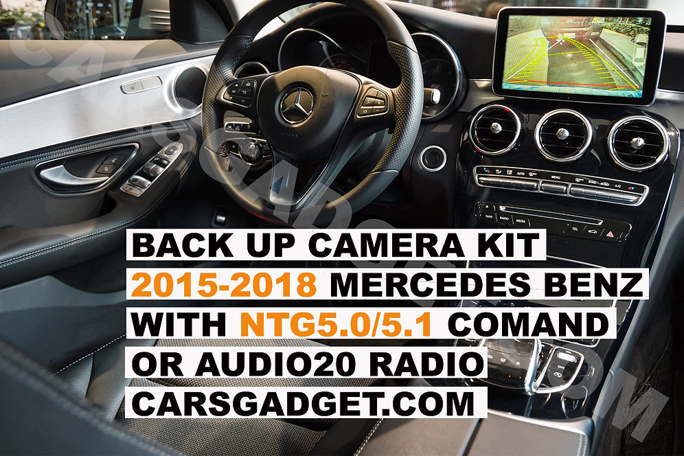 2015+ Mercedes Benz w/NTG5 0/5 1 COMAND Backup Camera System Video  Interface Kit | carsgadget