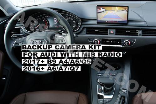 Audi Mib2 Mib Backup Camera Interface A4 B9 2016 2017 2018 Carplay Retrofit Android Auto