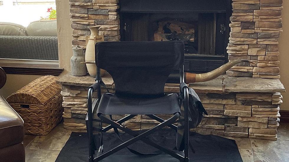 Mobile Barber Chair w/ headrest