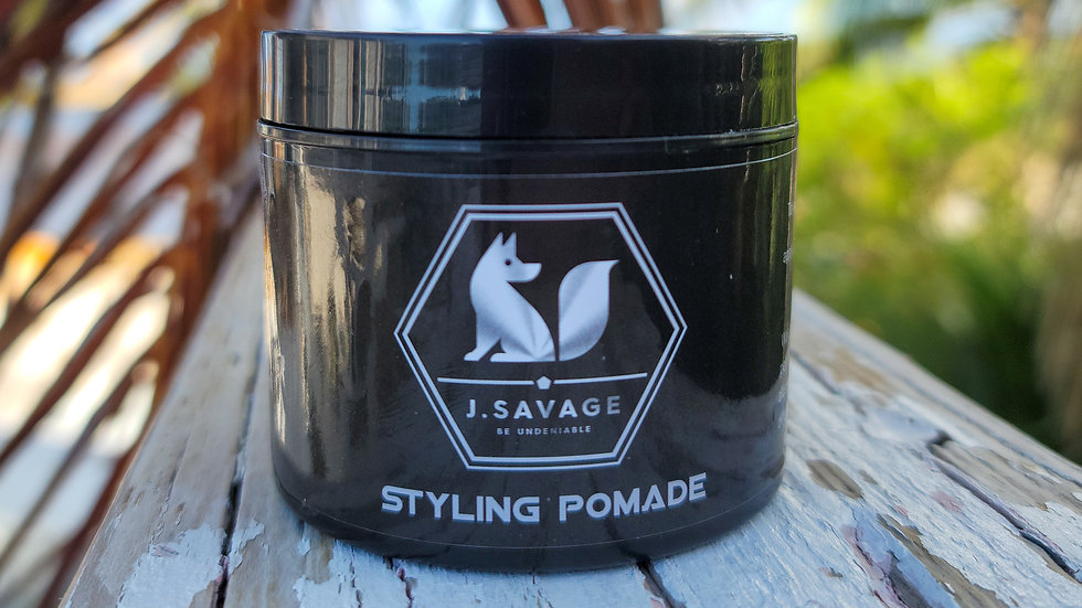 JSavage Pomade & Matte Clay Combo