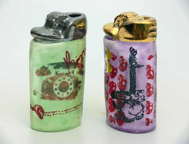 Green and Violet Lighters.jpg