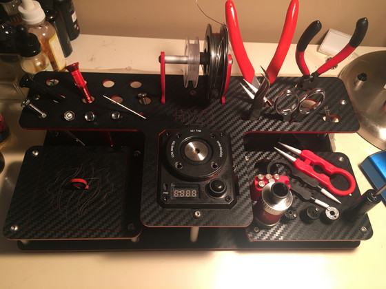 The Coilmaster 521 Tool Stand