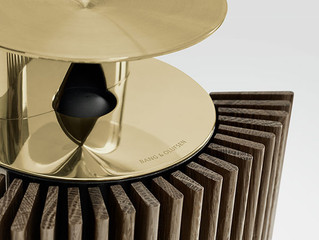 Bang & Olufsen adds warmer touch with new brass collection