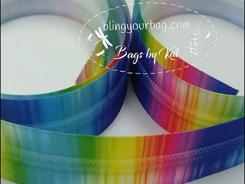 Tie Dye #3 Nylon Zipper Tape (5 yards)