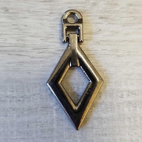 DIY Diamond Zipper Puller (each)