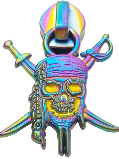 Pirate Zipper Pulls #3