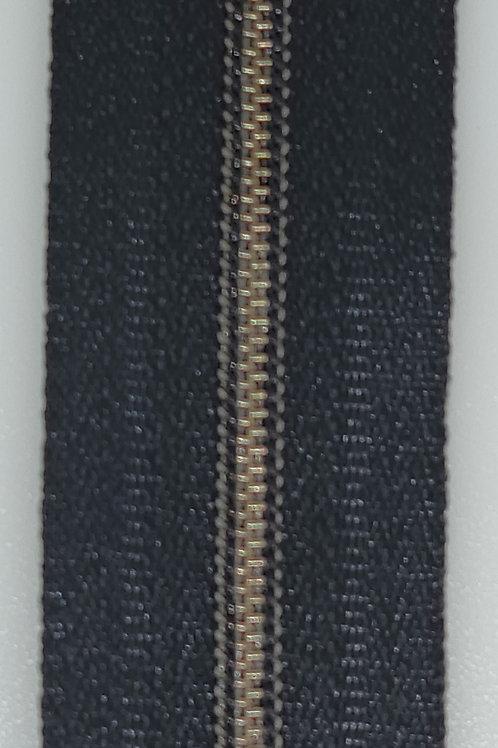 Antique Silver #3 Nylon Zipper Tape