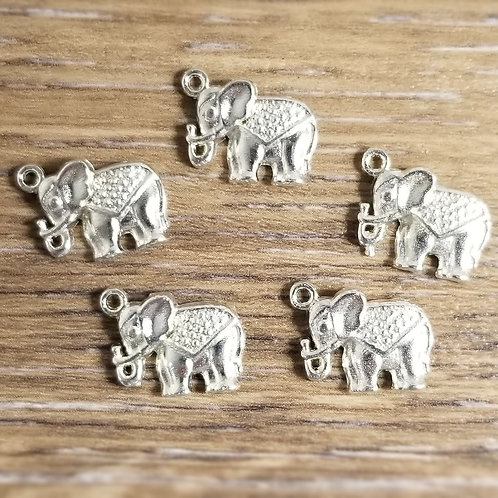 Baby Elephant Charms (5)