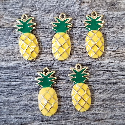 Colorful Pineapple Charm (5)