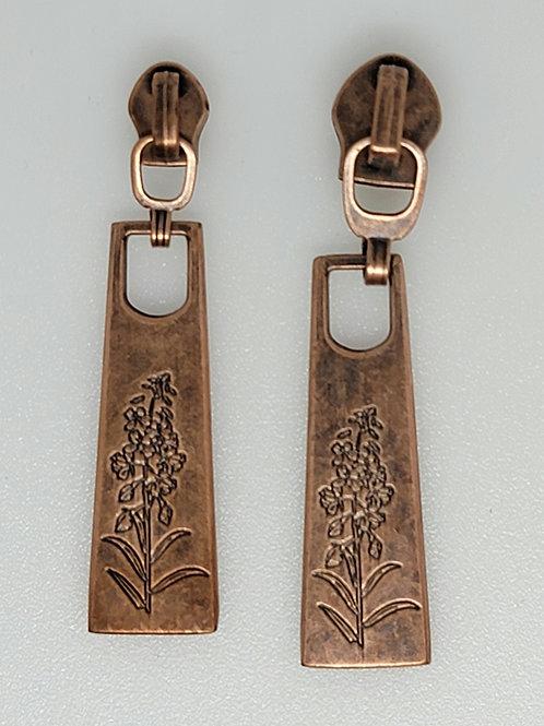 Fireweed Zipper Pulls #3 Nylon