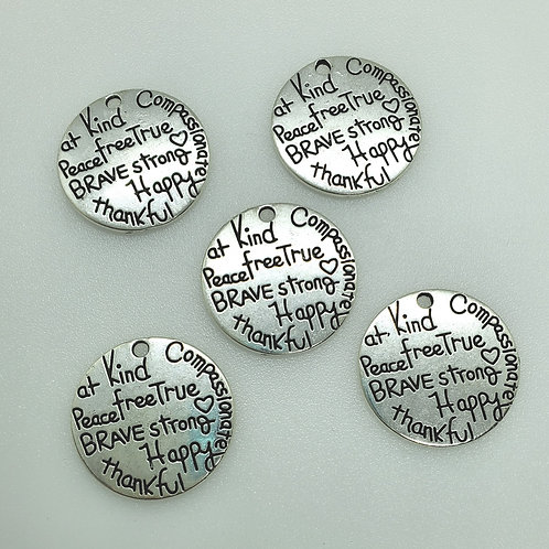Positive Word Charms (5)
