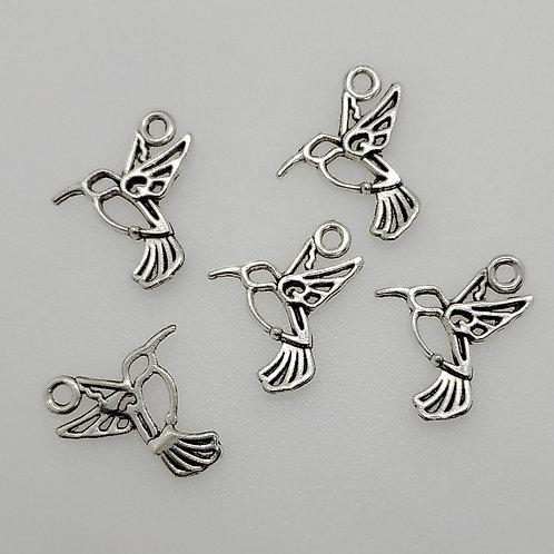 Mini Hummingbird Charms (5)