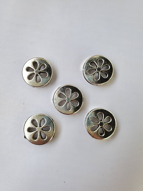 Center Flower Round Slider