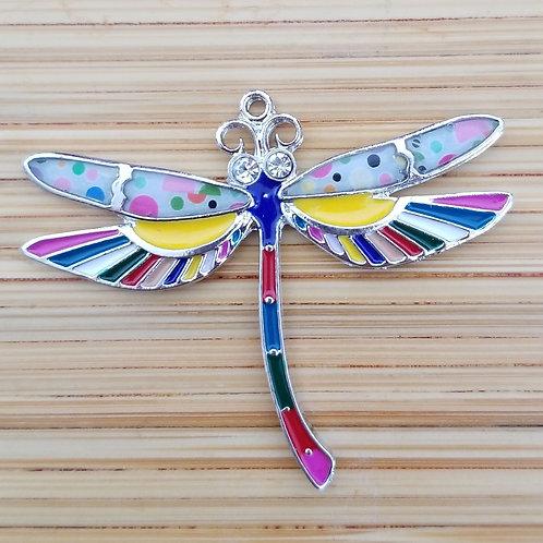 Dragonfly Enamel Charm
