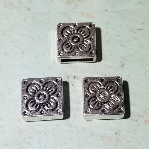 10 mm Square Flower Slider (5)
