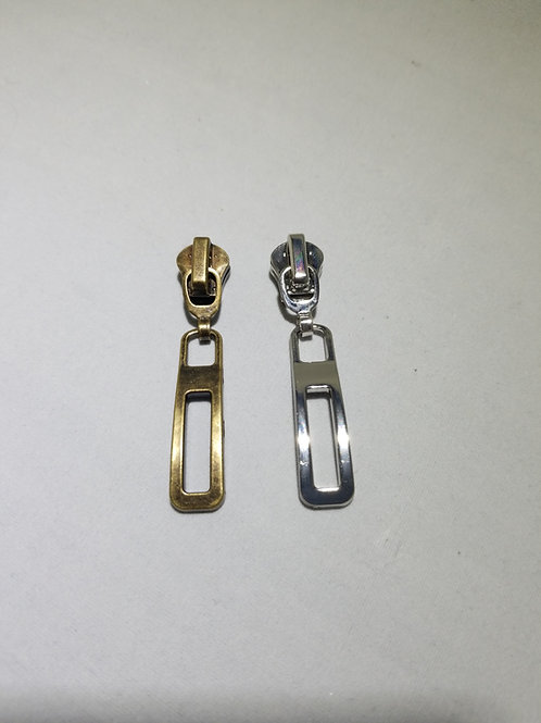Rectangle Metal Zipper Pull (10)