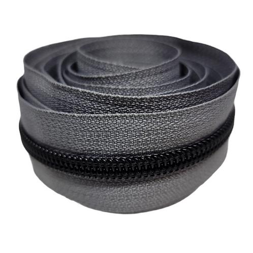 Gray #5 Nylon Zipper Tape